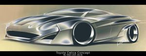 Toyota Celica Collab by JacobKuiper