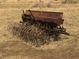 Old Farm Equipment by PamplemousseCeil