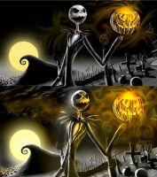 Jack Skellington update by aFletcherKinnear