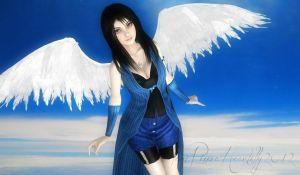 Angel In Flight by IamRinoaHeartilly