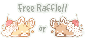 [CLOSED] 24 hour Fluffbit Raffle #2! by Sarilain
