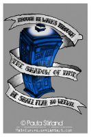 Dr Who Blue by hatefueled