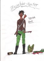 zombie hunter by Jaquina