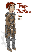 Freya Blackthorn Character Sheet by X-The-Pridelander-X