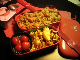 Omurice Bento by Medisante