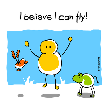 I believe I can fly! by mannelossi