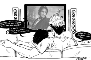 30 Day OTP Challenge- Day 3 :Watching A Movie by octofied