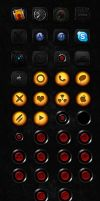 V2 Icons And SpringBoard Music icons Extras. by NoobGamer75