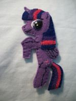 Twilight Sparkle Alicorn Handmade Pocket Pony 1 by grandmoonma