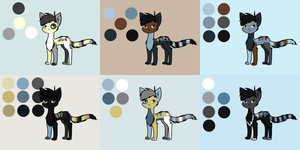Adoptable Sheet 14 by Adrakables