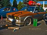 BMW e30 coupe rat style . by gregoryja