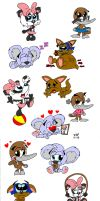 Tiny and Friends by JimmyCartoonist