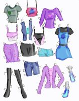 clothes 2 color by electricjesuscorpse