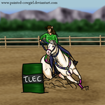 Tater-TLEC Barrels by painted-cowgirl