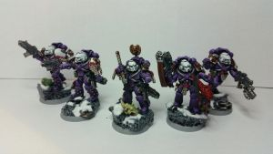 Pre-Heresy Emperor's Children Sternguards by gobsu