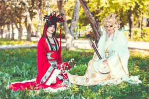 Chinese doll by Vis-Vitalis