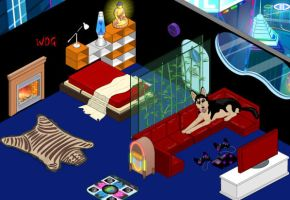 Room version 0.2 by WolfDragonGod