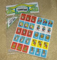 Vintage Donkey Kong Scratch and Sniff stickers by avaneshop