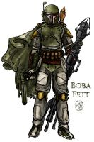 StarWars: Boba Fett by CircuitDruid