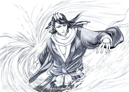 BLEACH - BYAKUYA BANKAI by Washu-M