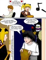 Halloween for Death Note by SailorEnergy