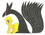 My Little Poninja: The Demon Within by the-ocean-sings