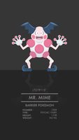 Mr. Mime by WEAPONIX