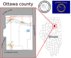 Fictional American County : Map of Ottawa county by Coliop-Kolchovo