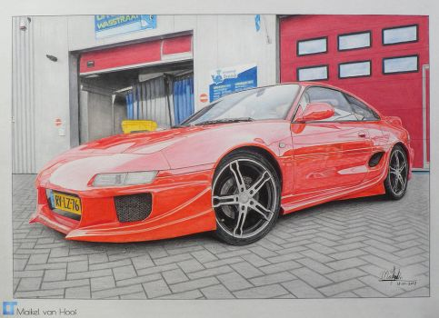 Toyota MR2 by Laggtastic