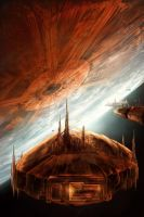 Looks like Coruscant by ValentiniaK