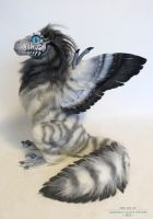 and another feather-raptor by kimrhodes