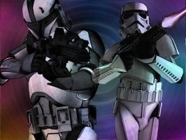 Troopers by druscilladelioncourt