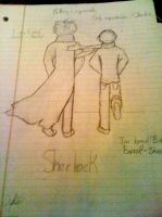 Sherlock Sketch by SighVerbally