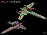 LEGO X-Wing Fighter by MikomDude