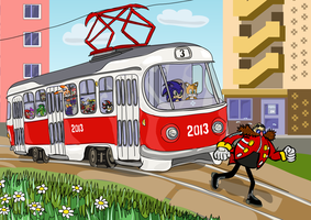 Sonic Heroes Tram )) by F1Cheese
