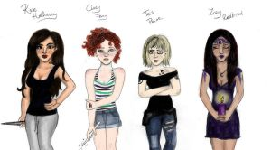 Tattooed girls of Young Adult by TheSearchingEyes