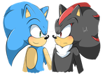 Request - Sonic x Shadow by InGriid-Chan