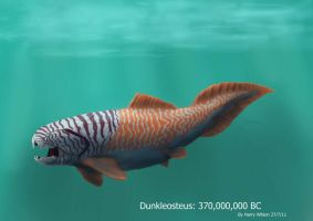 Dunkleosteus by Harry-the-Fox
