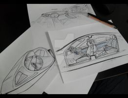 Quick Sketching by magao