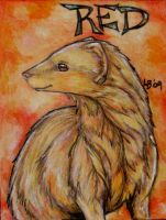 Red ACEO - Preview by Puppy-Chow