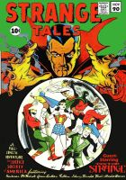 The Justice Society meets Dr. Strange! by Gwhitmore