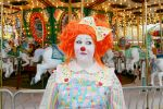 Peaches Clown Funny Face II. by burntfaestock