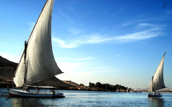 The Sails of Egypt by pixelpig