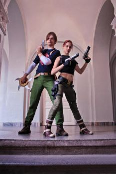 Tomb Raider AoD - back to back by TanyaCroft