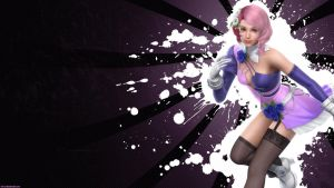 Tekken 6 wall Alisa -Black by nin-er