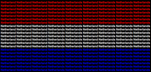 Netherlands name flag by ABtheButterfly