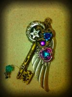 Midnight Stardust Fantasy Key by ArtByStarlaMoore