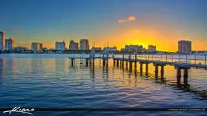 West-Palm-Beach-Waterway-Sunset-from-Palm-Beach-Is by CaptainKimo