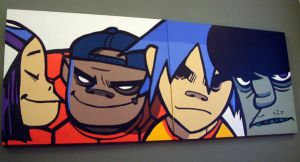 Gorillaz by retroworks