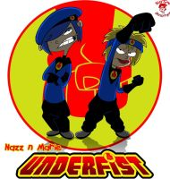 UNDERFIST: Nazz and Marie by TheEdMinistrator765